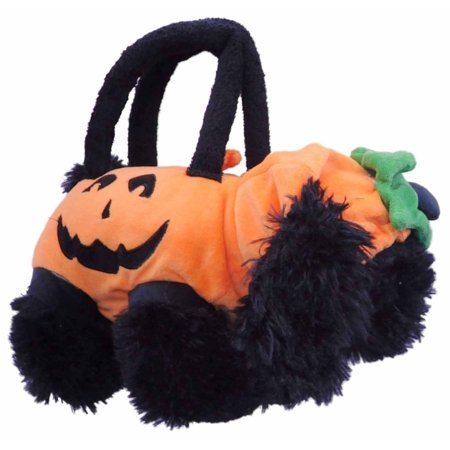 Olly & Friends Halloween Plush Purse Puppy Dog Tote Bag (Halloween Purses)