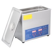 Best Jewelry Cleaner Steamers - 1.6 Gal. (6L) Ultrasonic Cleaner Stainless Steel w/ Review