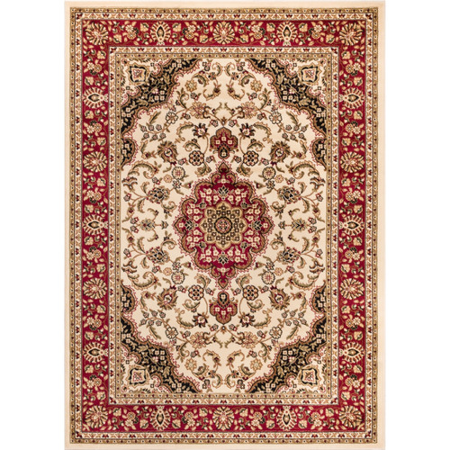 Well Woven Barclay Medallion Kashan Traditional Area/Oval/Round Rug