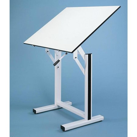 Alvin Ensign Pedestal Adjustable Drafting Table