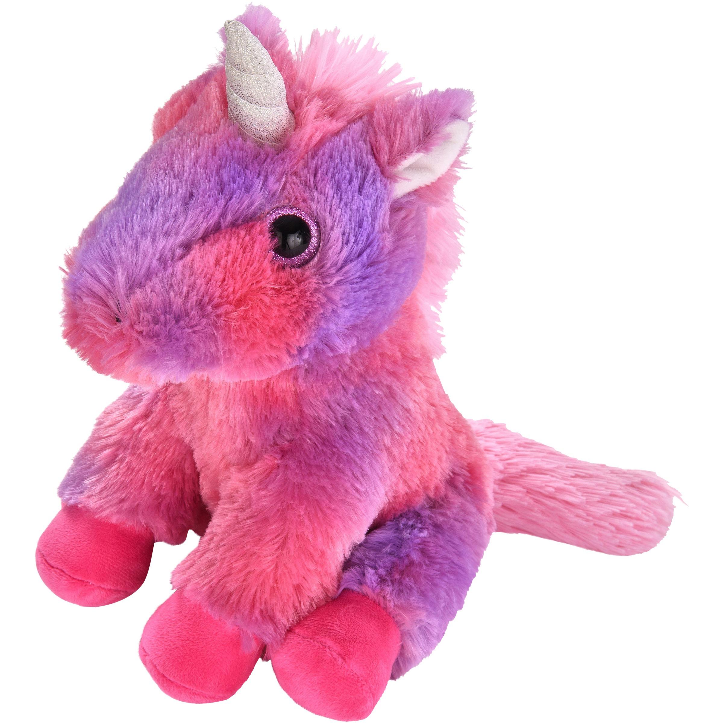 "Spark Create Imagine Plush 9"" Bright Eye Unicorn, Purple"
