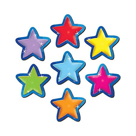 Magnetic Accents  Stars  77209 0   Thick  Durable Pieces Are Easy To Reposition By Teacher Created Resources