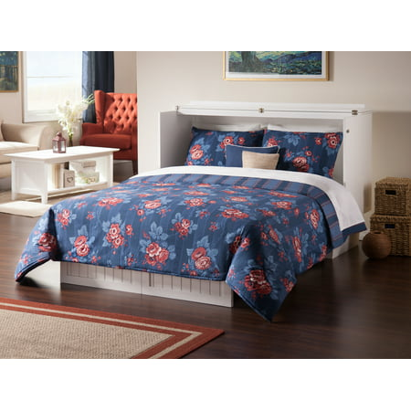 Nantucket Murphy Bed Chest With Cool Soft Mattress In Multiple