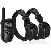 OxGord  Rechargeable Waterproof Dog Training Collar with 330 Yard Radius Remote
