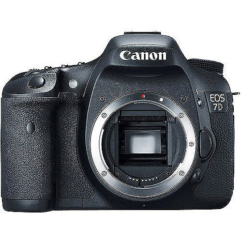 "Canon Eos 7d Body Only 18mp,black, 3"" Lc"