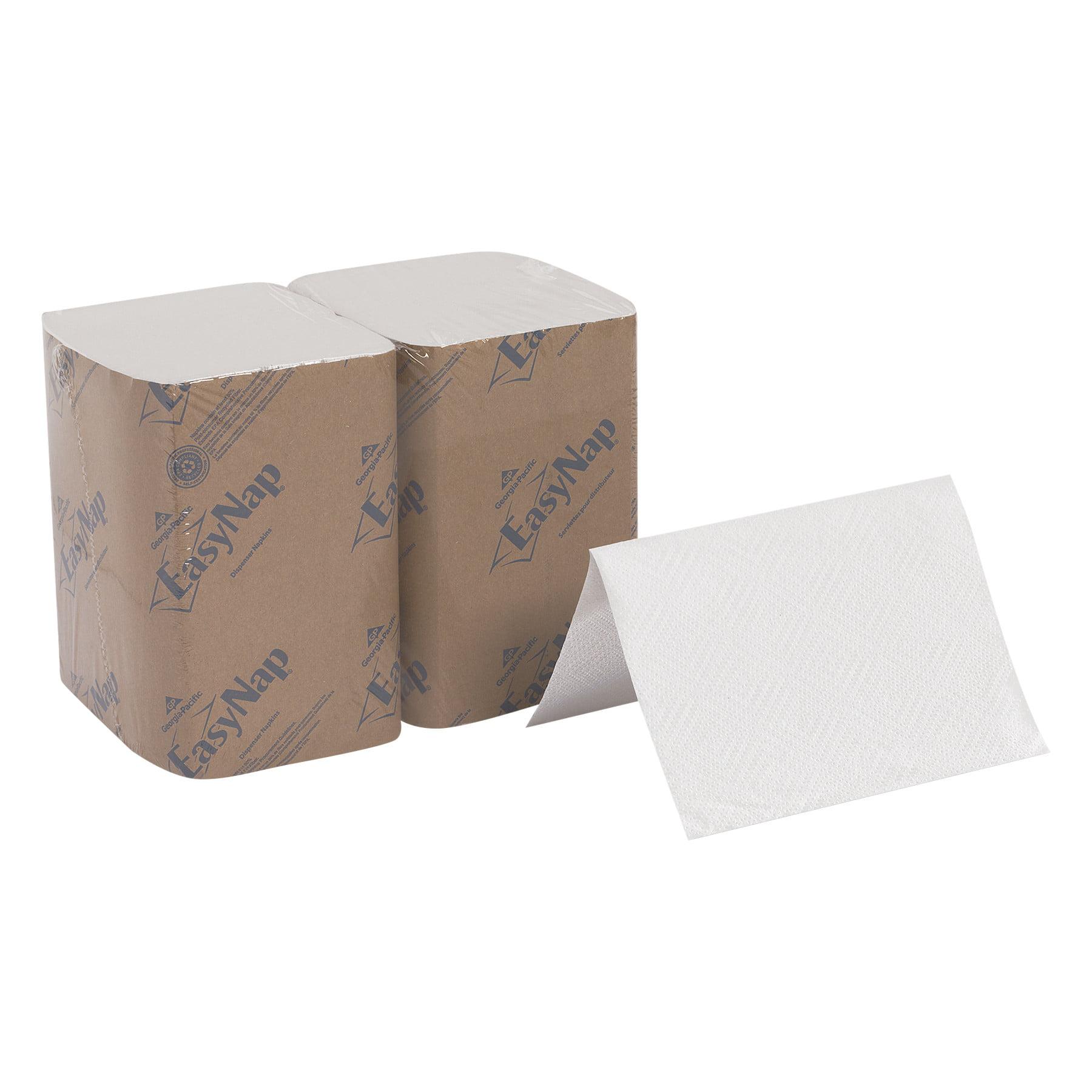 Dixie Ultra Interfold Napkin Refills 2 Ply 6 1 2x9 7 8 White 500