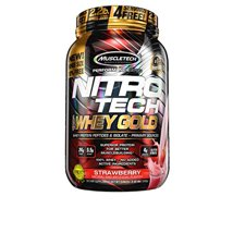 Protein & Meal Replacement: Nitro Tech Whey Gold