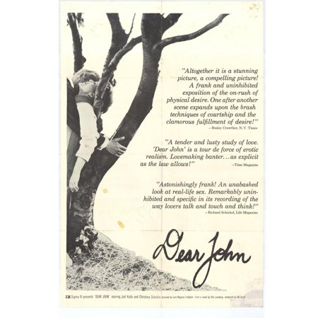Dear John Poster Movie  27X40