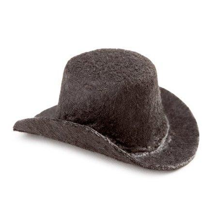 Bulk Buy: DIY Crafts Black Top Hat Felt 2 inches (12-Pack) 12767, Price includes 12 pieces of Black Top Hat Felt 2 inches 12767 By Darice