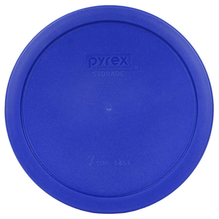 Pyrex Replacement Lid 7402-PC Cadet Blue Round Cover for Pyrex 7402 7-Cup Bowl (Sold Separately)