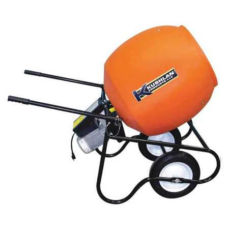 Kushlan Products 600GAS Unassembled Wheel Barrow Cement Mixer (Oshkosh Cement Mixer)