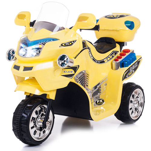 3 Wheel Motorcycle, Ride on Toy for Kids by Rockin' Rollers � Battery Powered Ride on Toys... by Trademark Global LLC