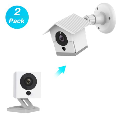 Wyze Camera Wall Mount Bracket Weather Proof 360 Degree Protective Adjustable Indoor and Outdoor Mount Cover Case for -