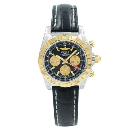 Breitling Chronomat GMT Steel Rose Gold Automatic Men Watch CB042012/BB86-743P