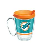 NFL Miami Dolphins Legend 16 oz Coffee Mug with lid