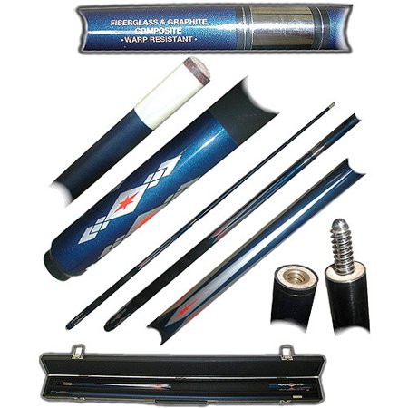 Fiberglass Blue Diamond Star Pool Stick (Blue Pool Stick)