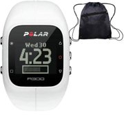 Polar - A300 Fitness and Activity Monitor w o HR with Bag - White
