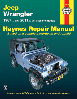 jeep wrangler automotive repair manual 1987 2003 all models rh walmart com 2003 jeep wrangler repair manual free 2003 jeep wrangler parts manual