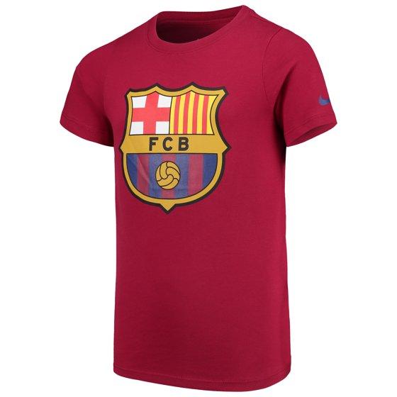 dbb15d95068 Nike - Barcelona Nike Youth Evergreen T-Shirt - Red - Walmart.com
