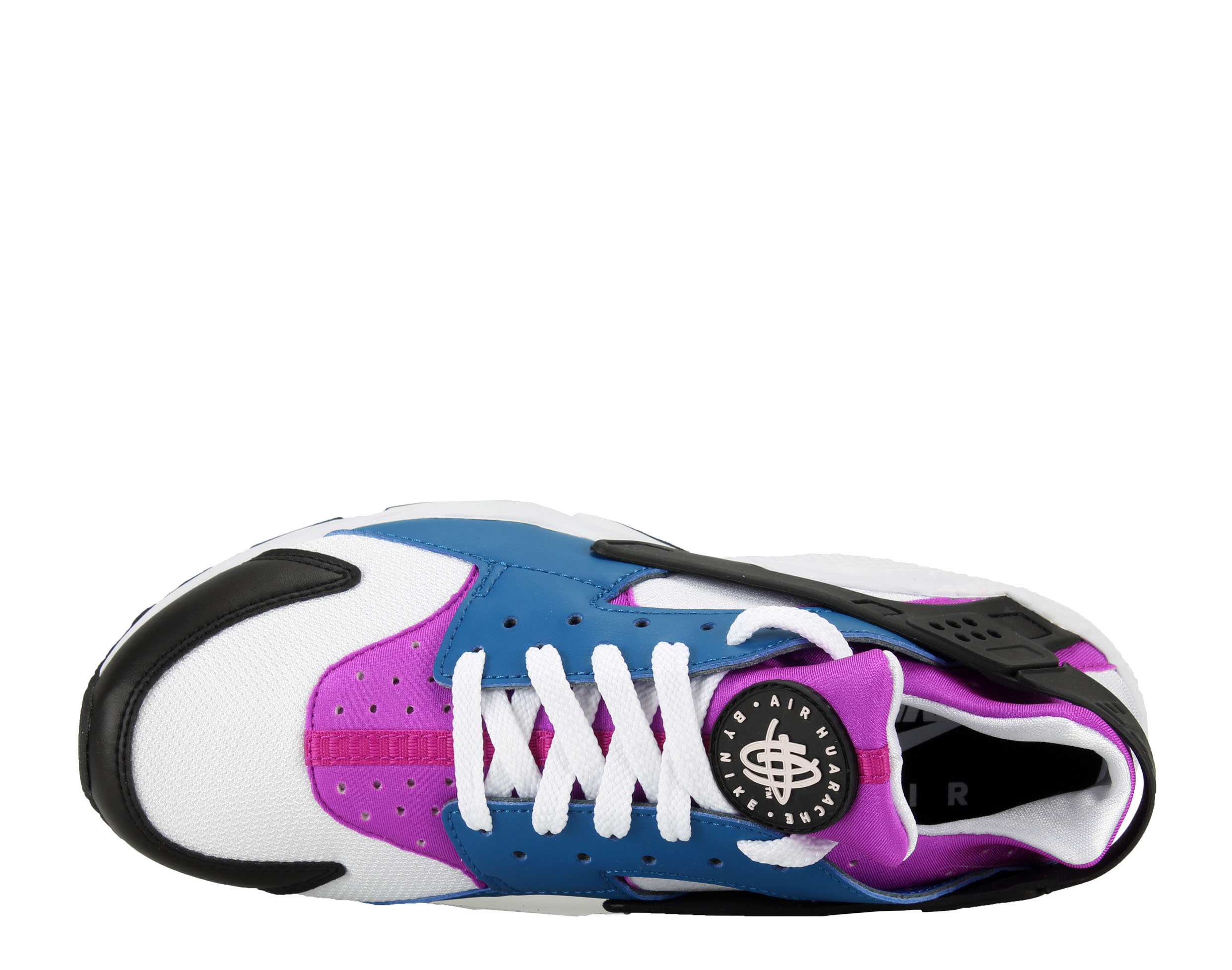 Nike Air Huarache Blue Jay/White-Hyper Violet Men's Running Shoes 318429-415