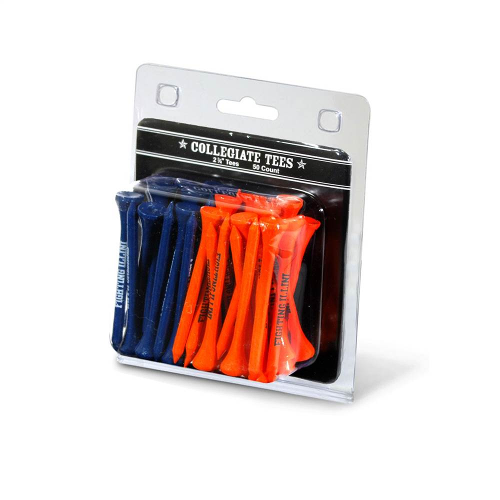University of Illinois 50 Count Tee Pack