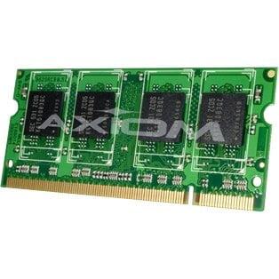 Axion AXG17391406/2 Axiom 4GB Kit (2 x 2GB) TAA Compliant - 4 GB (2 x 2 GB) - DDR2 SDRAM - 800 MHz DDR2-800/PC2-6400 - 200-pin - SoDIMM