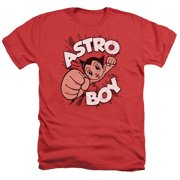 Astro Boy Flying Mens Heather Shirt