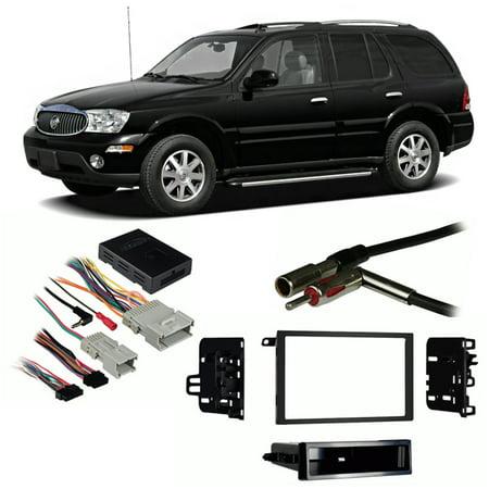 Install Dash Kit Buick Park - Fits Buick Rainier 2004-2007 Double DIN Stereo Harness Radio Install Dash Kit