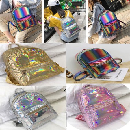 Fashion Sequins Backpack Girls Women School Mini Bag Travel Rucksack Shoulder Bags