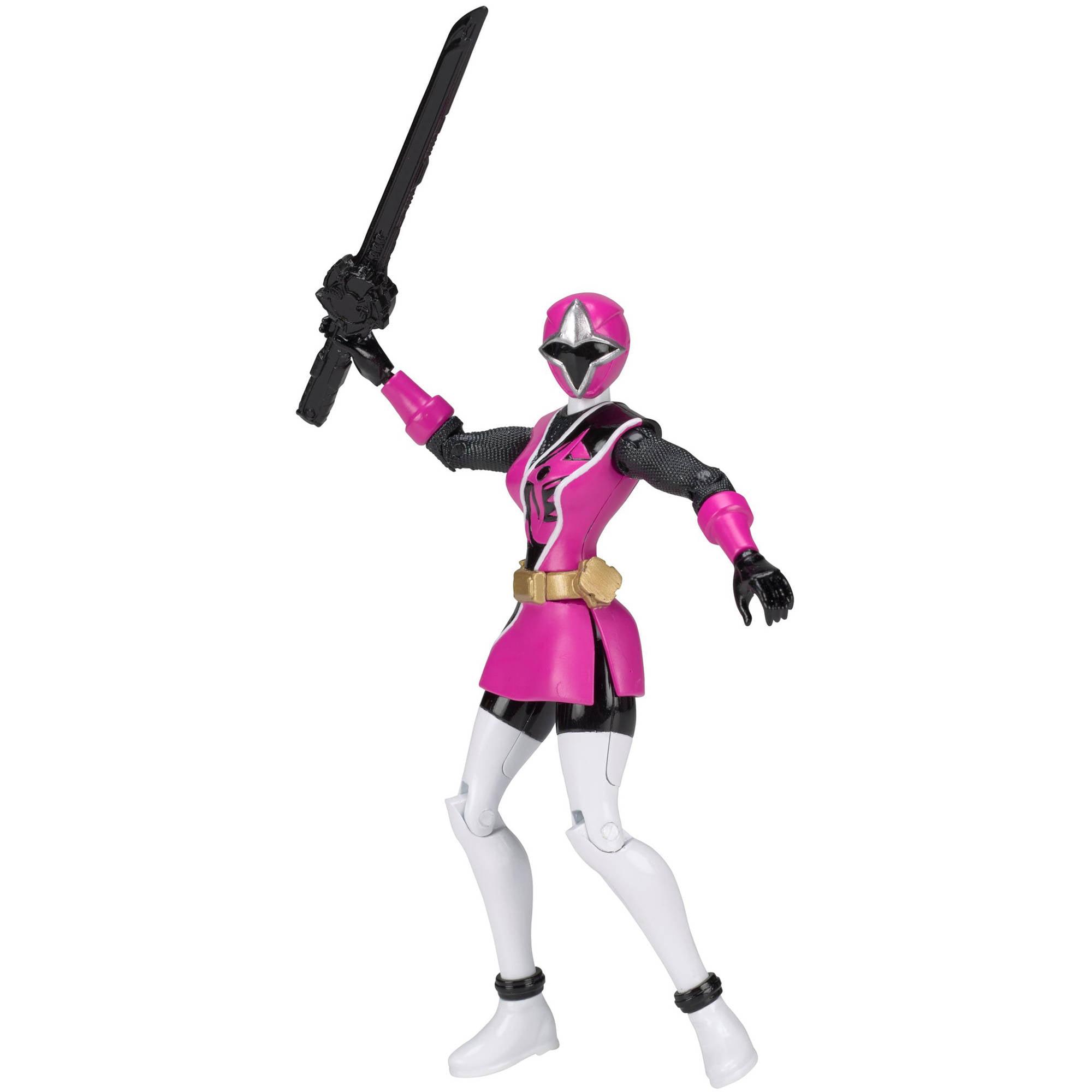 """Power Rangers Ninja Steel 5"""" Pink Ranger Action Hero"""
