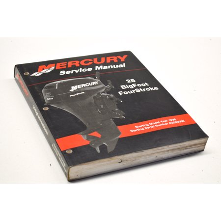 mercury service manual bigfoot