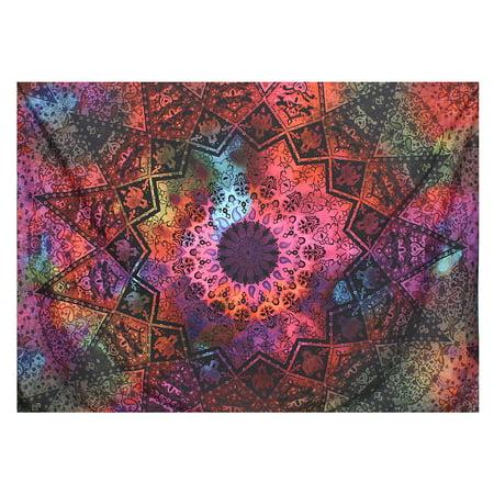 Indian Wall Hanging Tapestry Bohemian Mandala Bedding Throw Mat Home Decor DIY - Diy Bohemian Decor