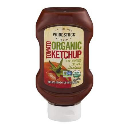 (2 Pack) Woodstock Organic Tomato Ketchup 20 oz