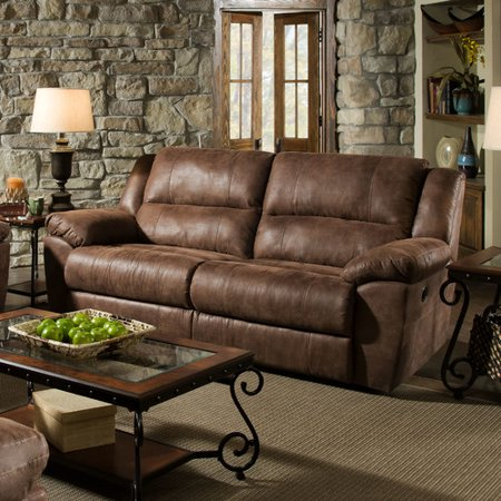 Loon Peak Umberger Contemporary Double Motion Reclining Sofa By