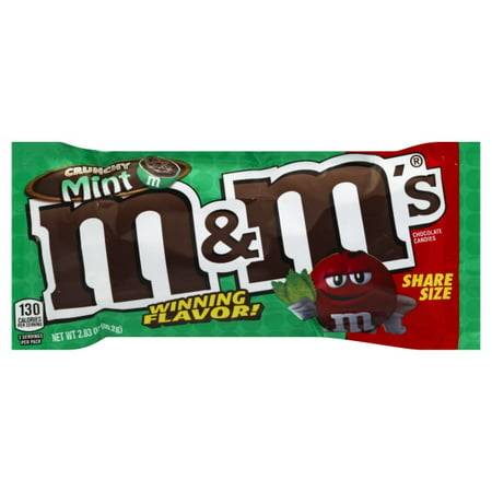 Mars Inc M&m's Crunchy Mint Sharing Size Flavor