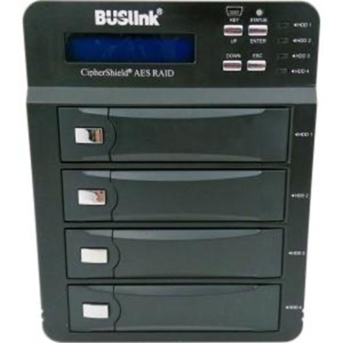 Buslink CSE-20TB4-SU3 CipherShield 20TB FIPS140-2 USB3.0/eSATA AES 256-bit CS External Drive