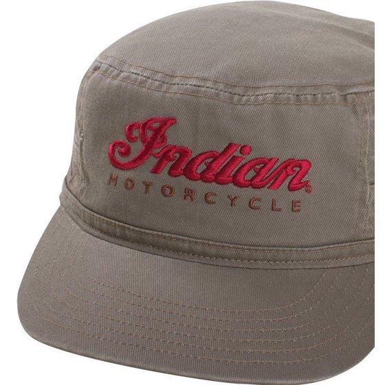 c7808271b44 INDIAN MOTORCYCLE SCRIPT LOGO ARMY HAT - Walmart.com