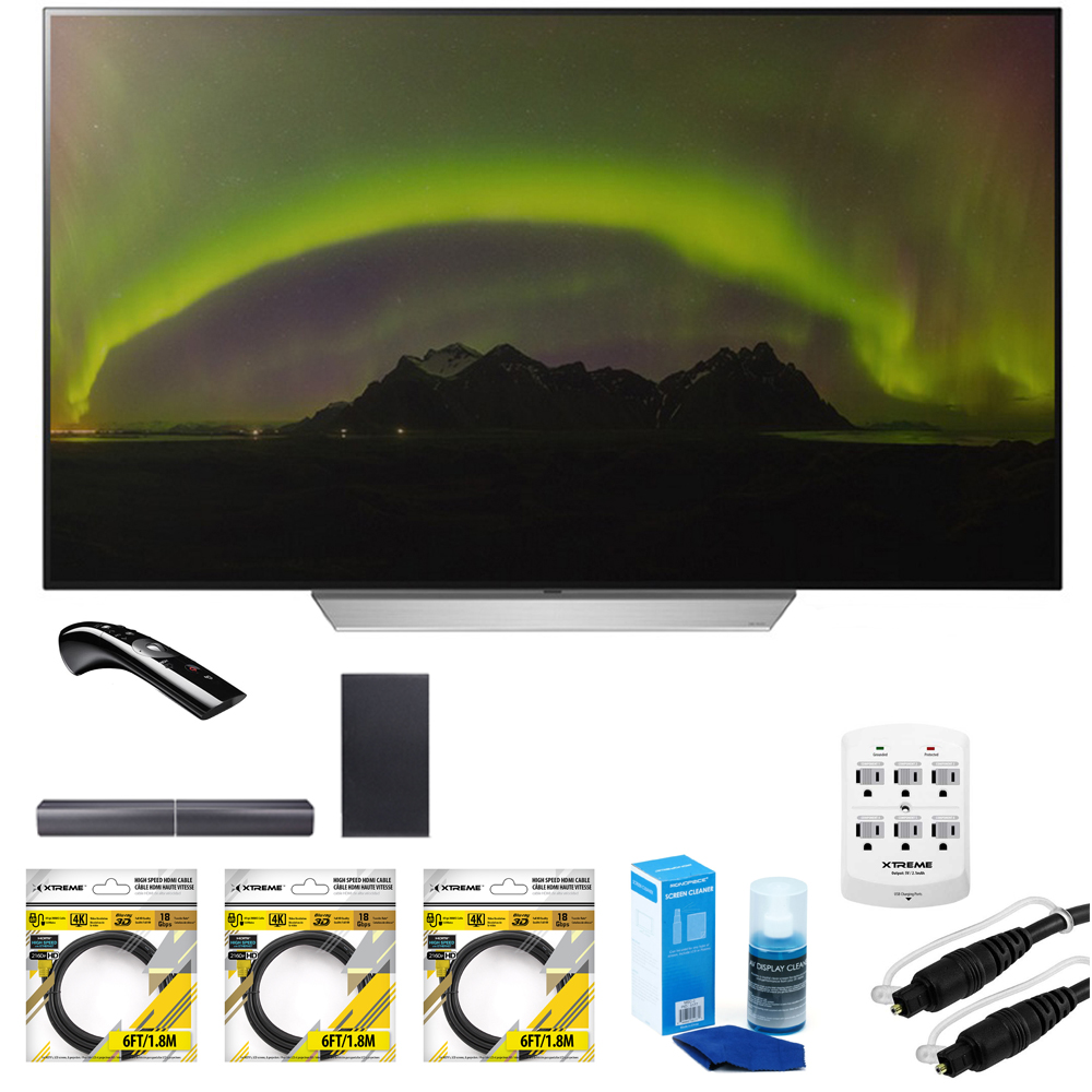 "LG 55"" C7P OLED 4K HDR Smart TV (OLED55C7P) with Sound Ba..."