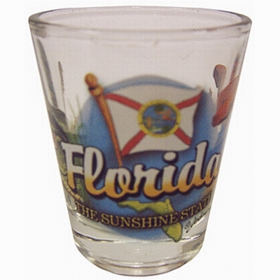 "Ddi Florida Shot Glass 2.25h X 2"" W Elements (pack Of 96)"