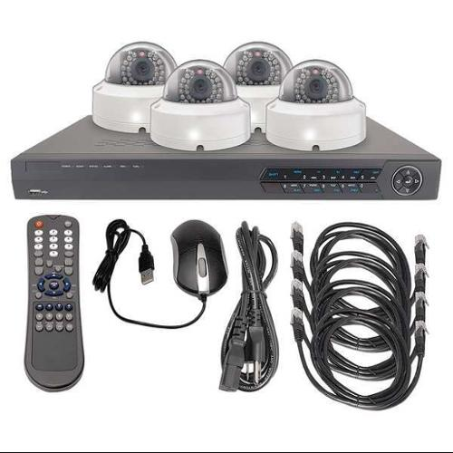 LTS LTN0441K-4D CCTV Kit, All In One, 12VDC, 1 TB