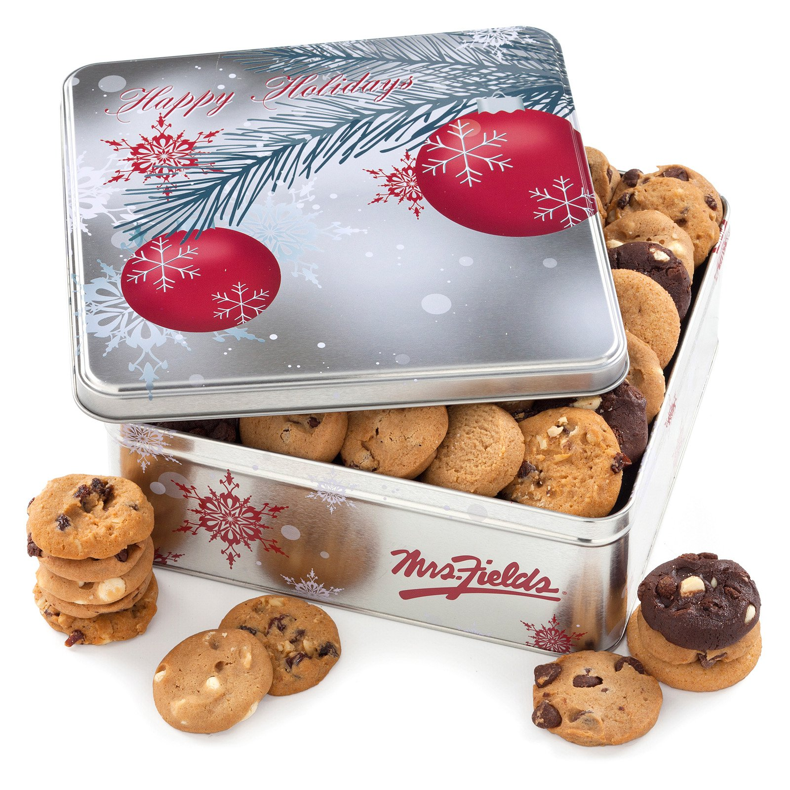 Mrs Fields 90 Nibbler Holiday Tin