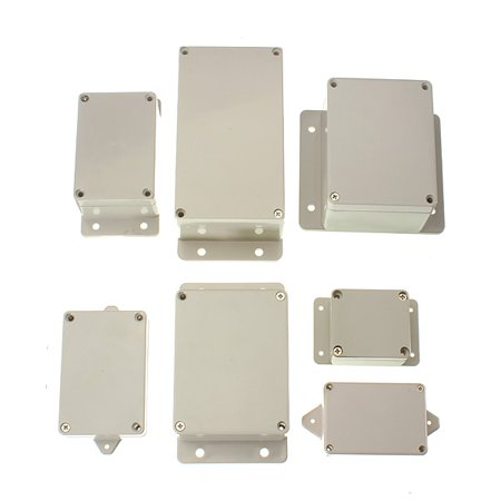 Drillpro Enclosure Project Box Plastic Electronic Project Control Junction Box Enclosure Case Cover Waterproof US