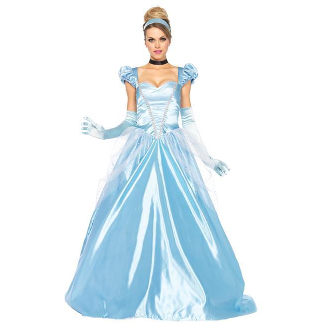 Morris Costumes UA85518LG Cinderella Classic 3 Piece Costume, Large