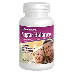 NaturalCare Sucre équilibre Capsules, 60 Count