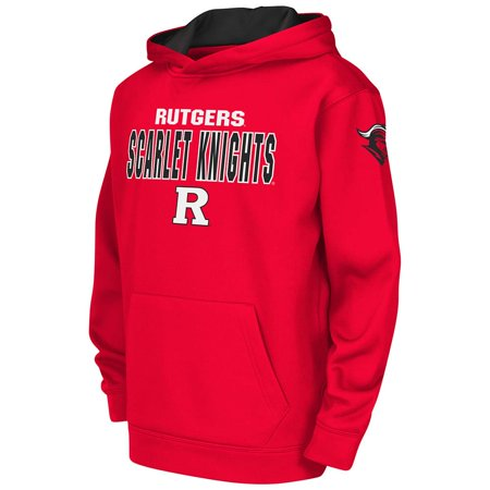 Youth Ncaa Rutgers Scarlet Knights Poly Pull Over Hoodie