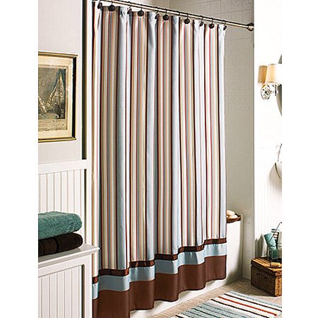 Better Homes and Gardens Citrus Stripe Shower Curtain. Better Homes and Gardens Citrus Stripe Shower Curtain   Walmart com