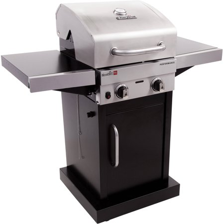 Combination Gas Grill - Char-Broil Tru-Infrared 2-Burner Gas Grill