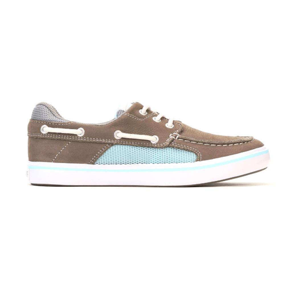 Xtratuf Women's Finatic II Deck Boat Shoes Brown Leather ...