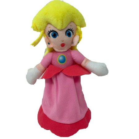 Nintendo Official Super Mario Princess Peach Soft Plush,7.5