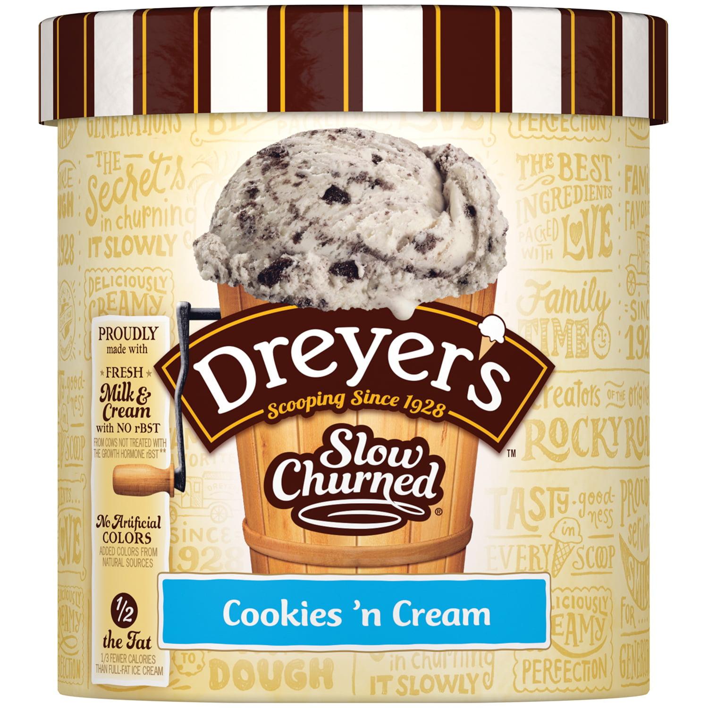 EDY'S/DREYER'S SLOW CHURNED Cookies 'n